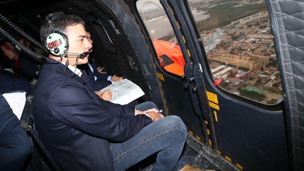 Sánchez visita Orihuela, donde se ha confirmado la sexta víctima mortal por la DANA