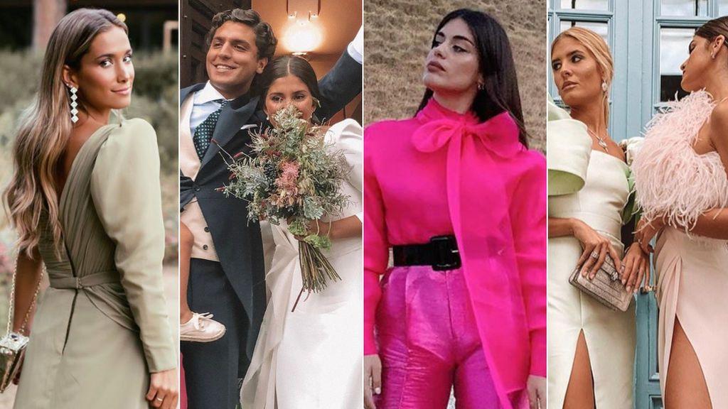 Dulceida, María Pombo o Marta Lozano: todos los looks de la boda de María G. de Jaime y Tomás Páramo
