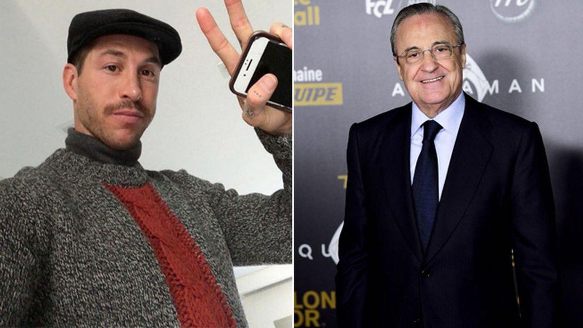"""El socio 1776 del Real Madrid pide a Florentino Pérez que impida a Sergio Ramos seguir haciendo el ridículo: """"Parece una turista sueca"""""""