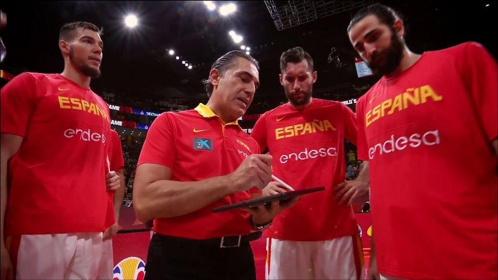 La pizarra de Sergio Scariolo: la cabeza pensante de la Selección española