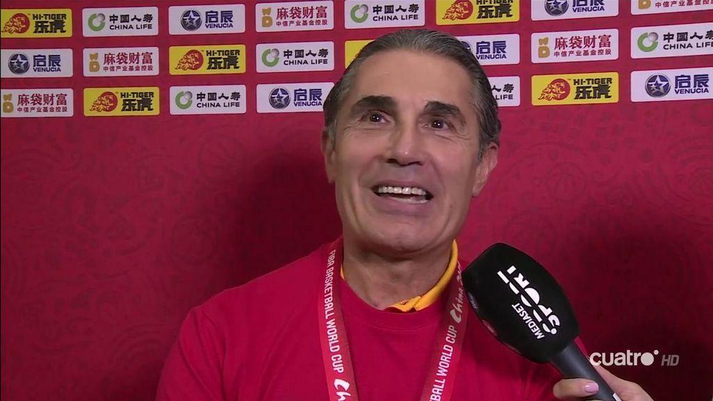 """La promesa de Scariolo a los jugadores que estuvieron en las Ventanas FIBA: """"Tendrán una medalla de oro"""""""