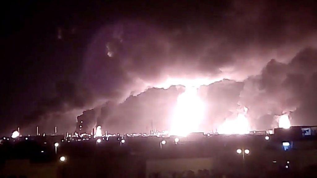 Ataque con drones a dos refinerías saudíes