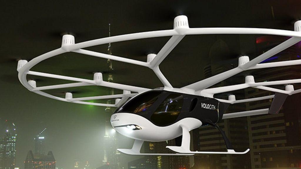 Volocopter, el taxi volador: primera demostración de vuelo en Stuttgart