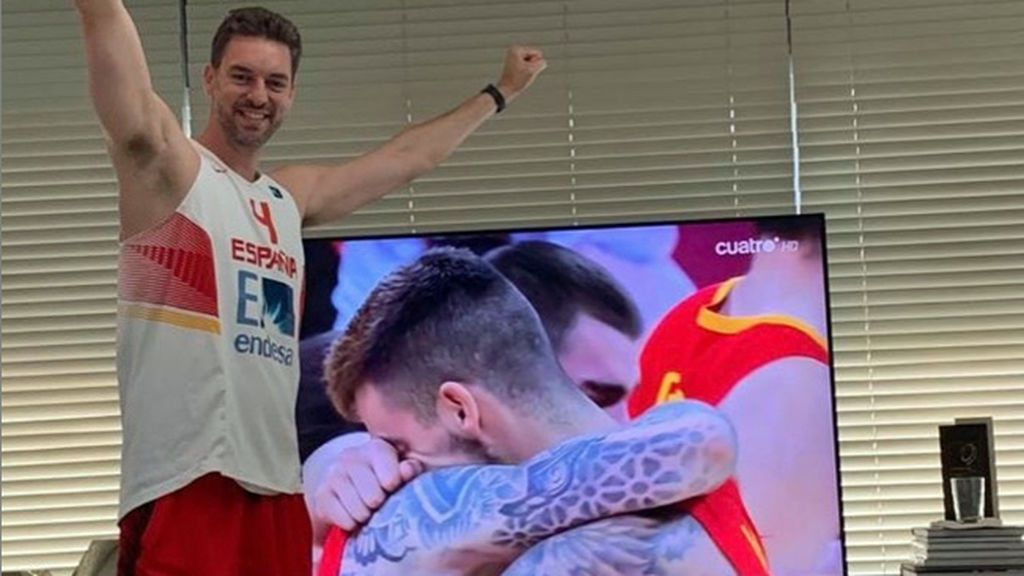 """Pau Gasol, Casillas, Doncic… todo el deporte felicita a los campeones del mundo: """"Muy grandes compañeros"""""""