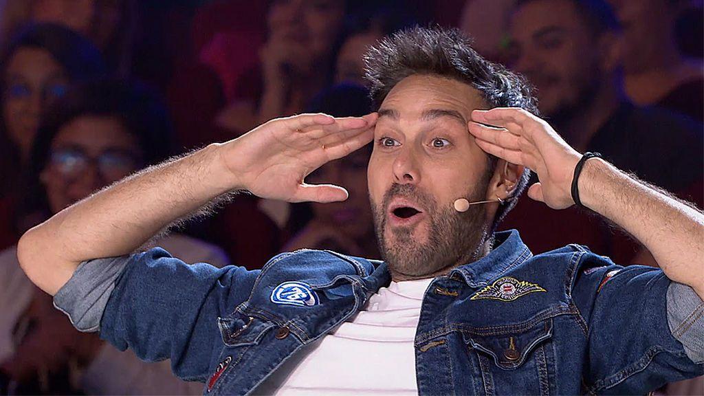 El apoteósico estreno de Dani Martínez como jurado de 'Got Talent 5'