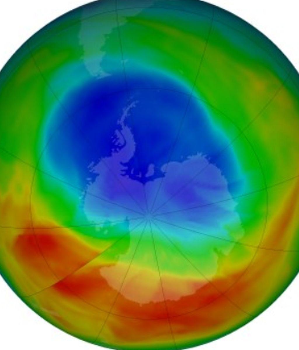 Así está hoy la capa de ozono