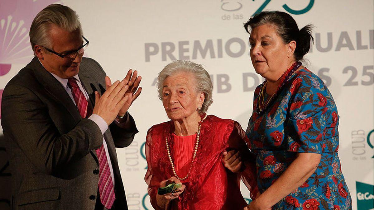 Muere Ascensión Mendieta, símbolo de la lucha de las víctimas del franquismo