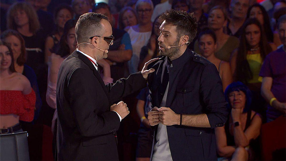 Dani Martínes se estrena como jurado entre piques con Risto Mejide