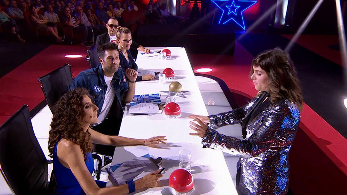 """Melanie hace magia con los móviles del jurado y hechiza a Dani Martínez: """"Merece ganar 'Got Talent"""""""