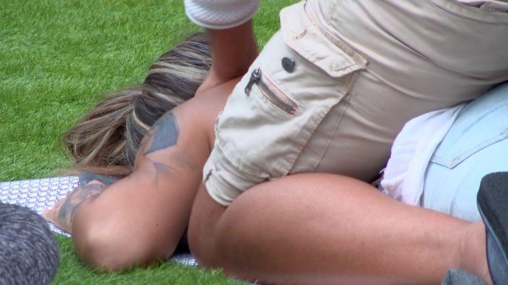 Sube la temperatura en 'GH VIP 7': el sensual masaje de Gianmarco a Nuria MH