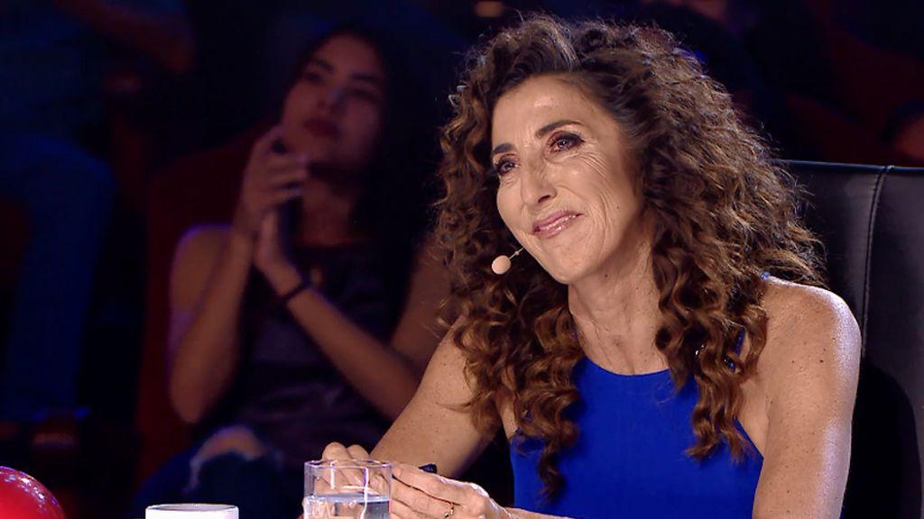Paz Padilla no puede contener las lágrimas con la actuación de José Antonio