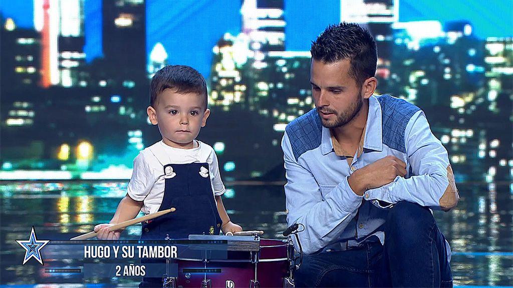 El concursante más joven de la historia de 'Got Talent' impresiona al jurado con su tambor