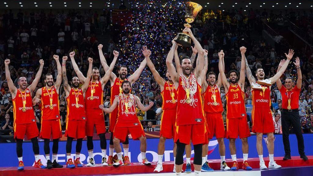 'La Copa ya está aquí': Cuatro culmina la cobertura del Mundial de Baloncesto con la celebración de la victoria de España