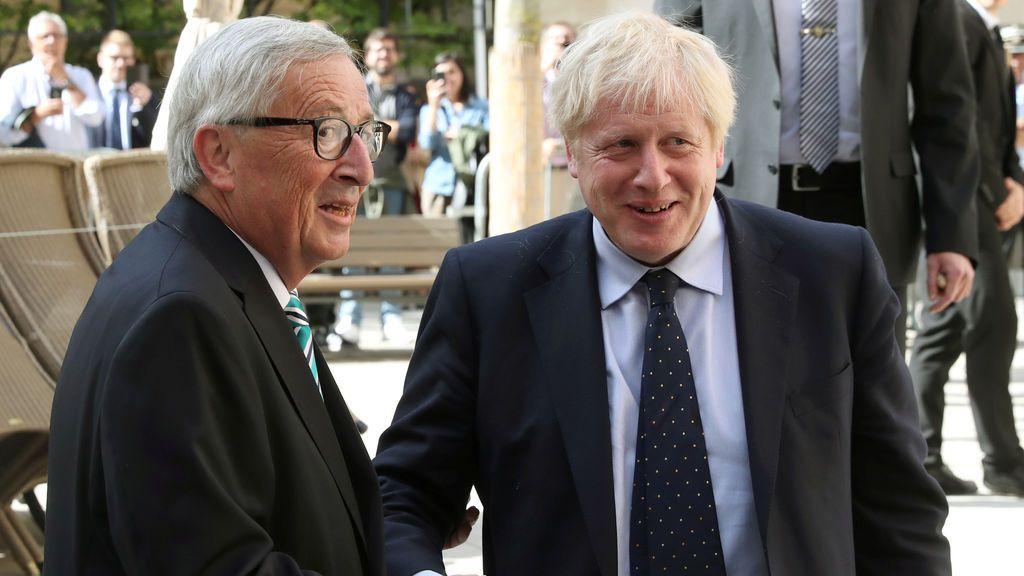 Brexit: El 'Increíble Hulk' es recibido por el presidente de la Comisión Europea
