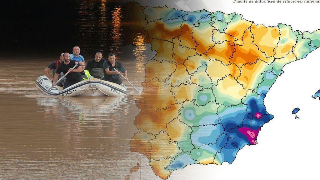 Adiós a la DANA: estas han sido las zonas más castigadas por la 'gota fría'