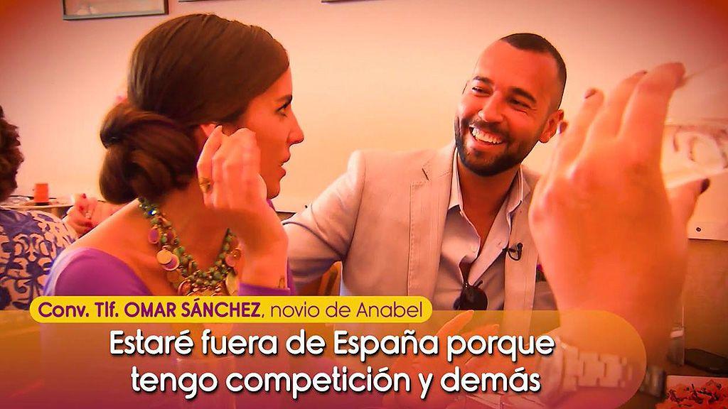 El novio de Anabel Pantoja habla de su supuesto roneo con Gianmarco en 'GH VIP'