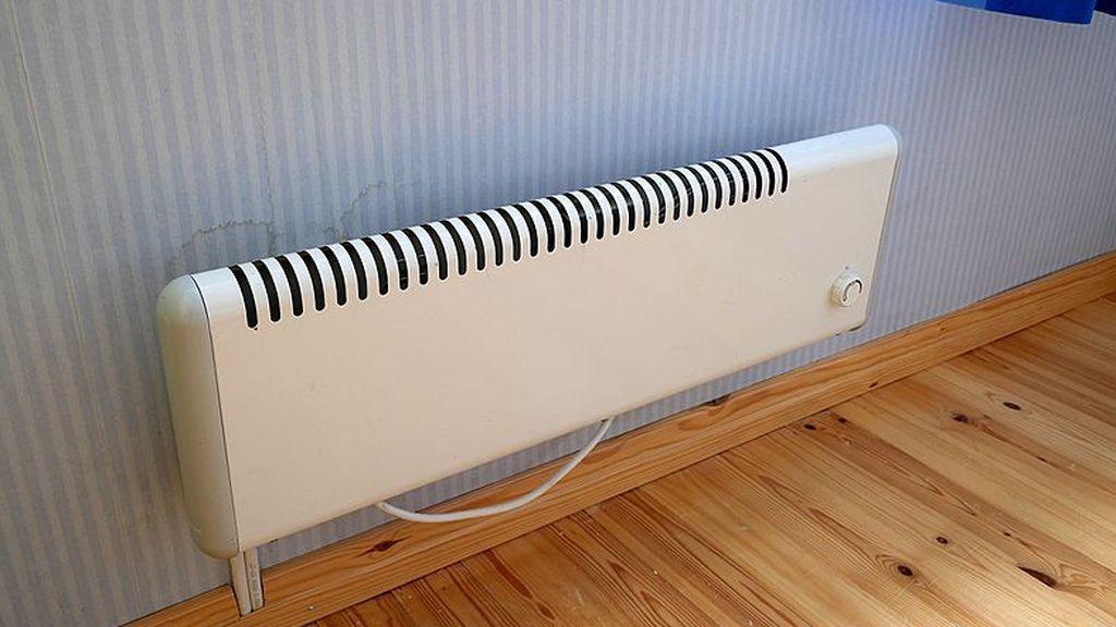 White_electric_radiator