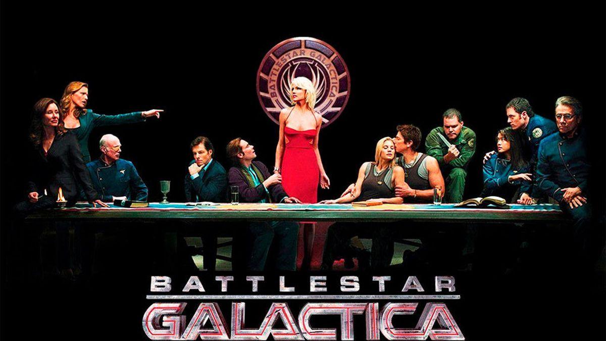 """El nuevo rival de Netflix es un """"pavo real"""" a bordo de 'Battlestar Galactica'"""