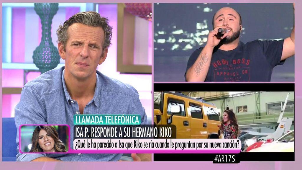 """Isa Pantoja, sobre las risas de su hermano con su videoclip: """"No me lo esperaba, yo no lo habría hecho"""""""
