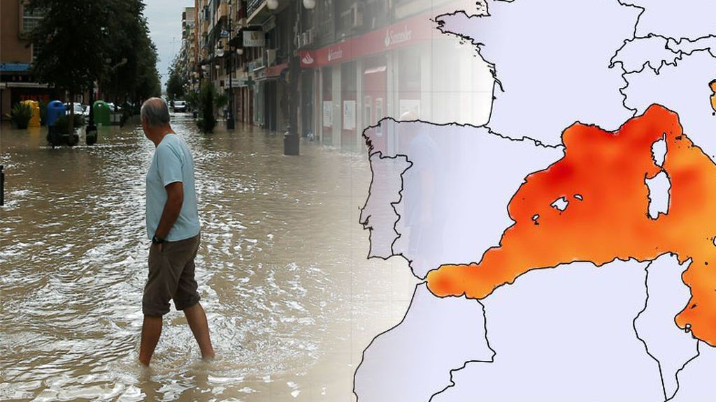 'Gotas frías' cada vez peores: el caldeamiento del Mediterráneo está agravando estos episodios