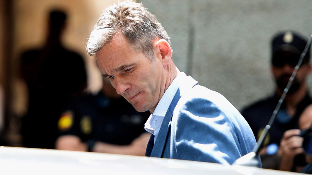 """Urdangarin tiene un riesgo de reincidencia """"medio-alto"""" según Interior"""