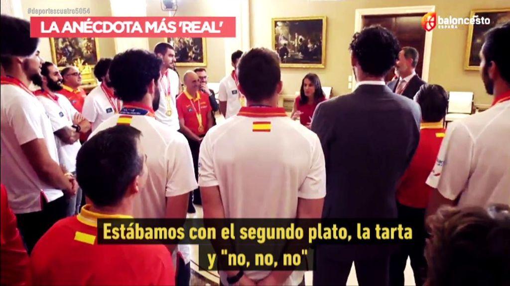 """La Reina Letizia narra cómo vivió el España-Argentina: """"Era mi cumple, estábamos con la tarta y todos, no, no, no"""""""