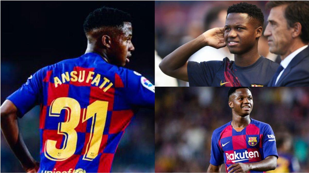 El Barça blinda a Ansu Fati con una renovación de 'galáctico'