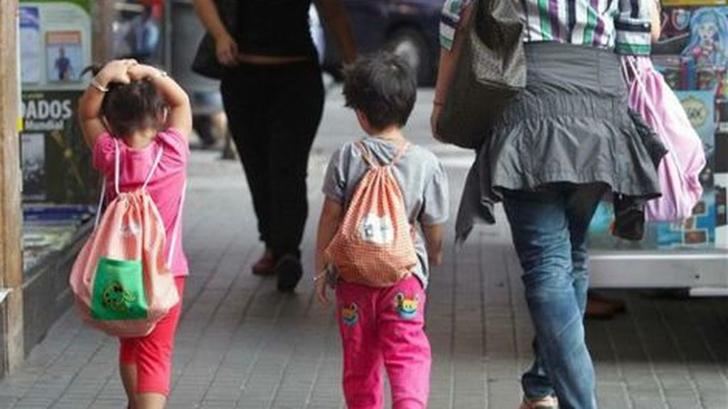 La mitad de los hogares monoparentales en España está en riesgo de pobreza y exclusión