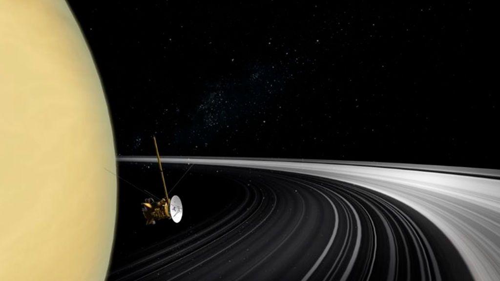 Los anillos de Saturno son anteriores a los dinosaurios