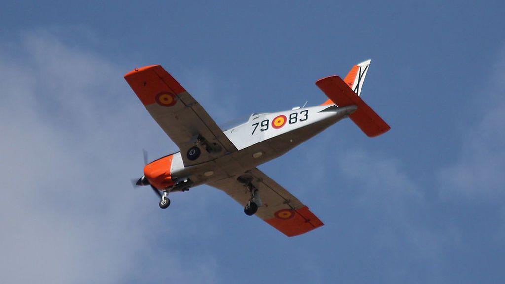 Una aeronave del Ejército cae en el Mar Menor