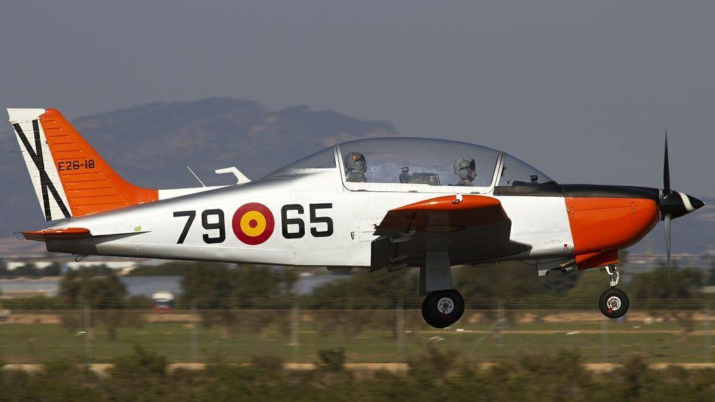 El modelo de avión estrellado en el mar Menor es el T35C Pillán