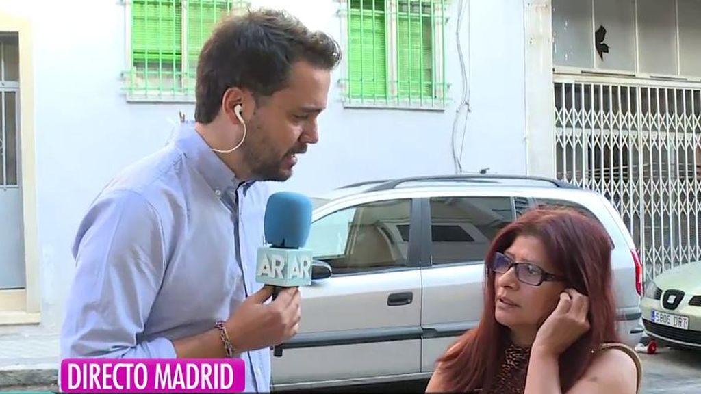 Habla la vecina de la asesinada por viloencia de género en Madrid