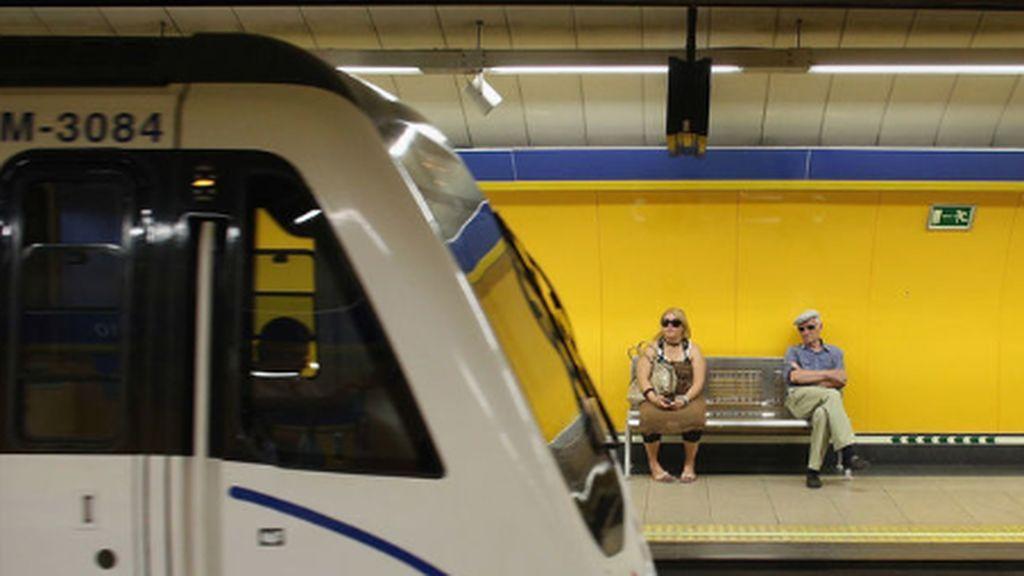 Suspendida la línea 7 de metro  entre las estaciones de Canal y Peñagrande