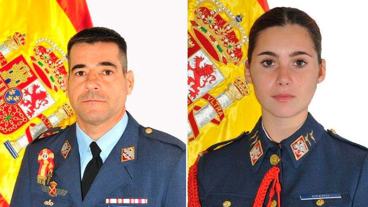 Mueren  una alumna y su instructor pertenecientes al Ejército del Aire tras estrellarse en el Mar Menor