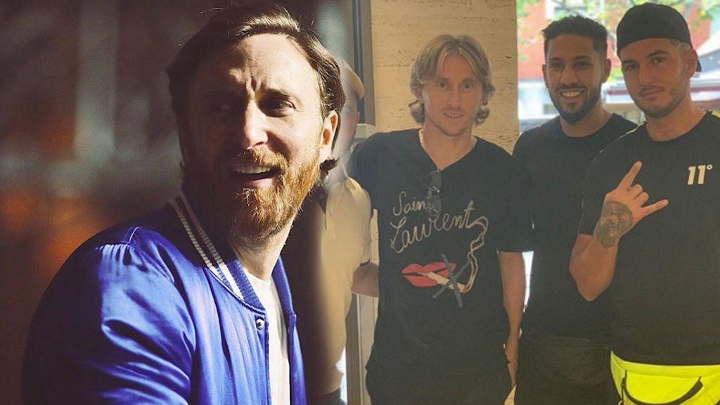 """El vacile de Omar Montes a Modric: """"Dale recuerdos a tu hermano David Guetta"""""""