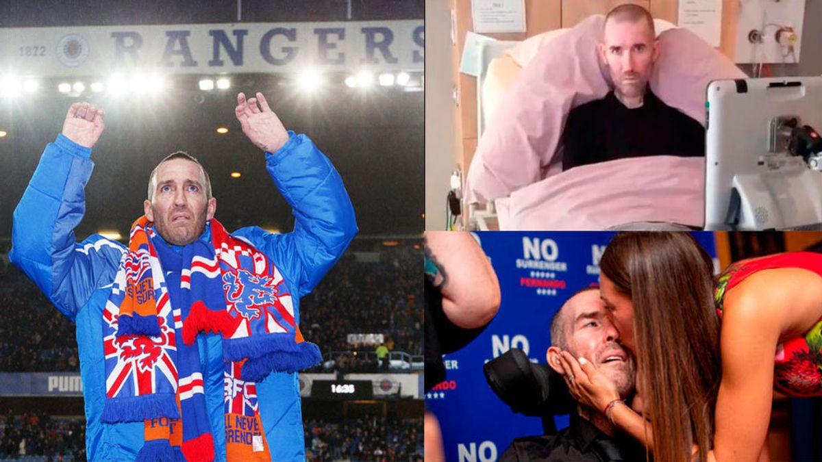 Fallece Fernando Ricksen, exfutbolista holandés del Rangers que luchó durante seis años contra el ELA