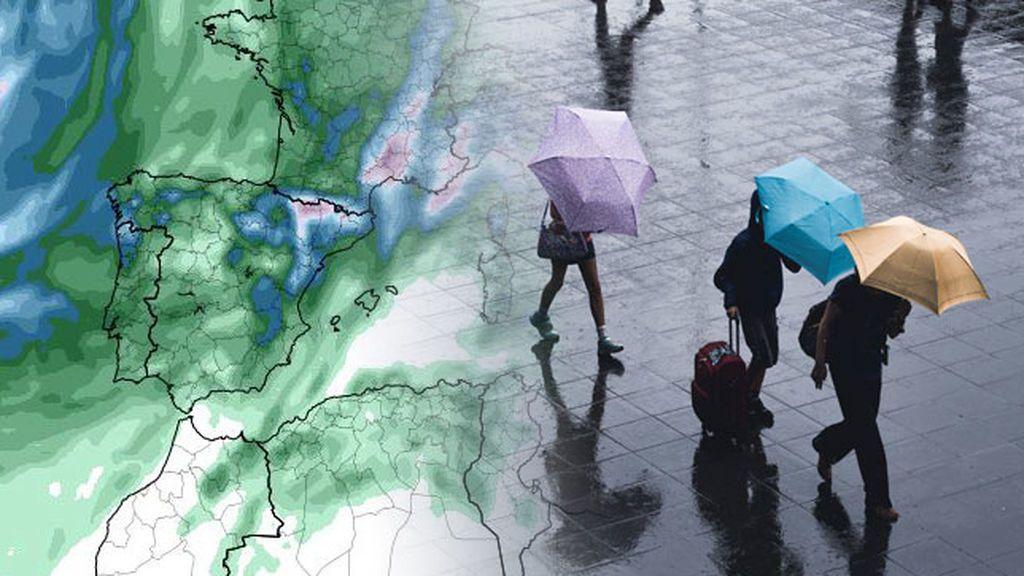Habrá lluvias en casi todo el país el viernes: dónde serán más cuantiosas