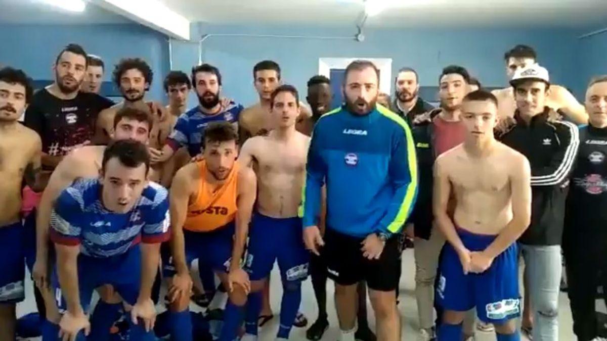 """El cariñoso mensaje de un equipo asturiano al entrenador rival al enterarse que lucha contra un cáncer: """"Este partido lo vas a ganar"""""""