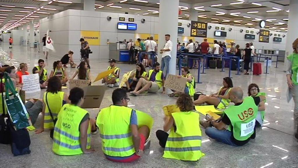 Los pilotos de Ryanair se unen a la huelga de los tripulantes de cabina