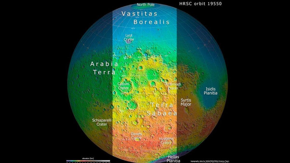 Esta es la foto de mayor resolución de Marte: te ayudamos a entenderla