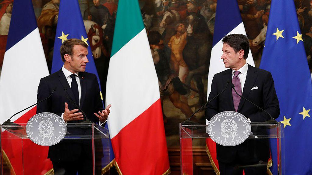 Italia y Francia anuncian un compromiso para la reubicación de migrantes en la UE