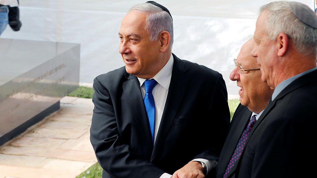 El primer ministro israelí pide un gobierno de unidad a su gran rival político