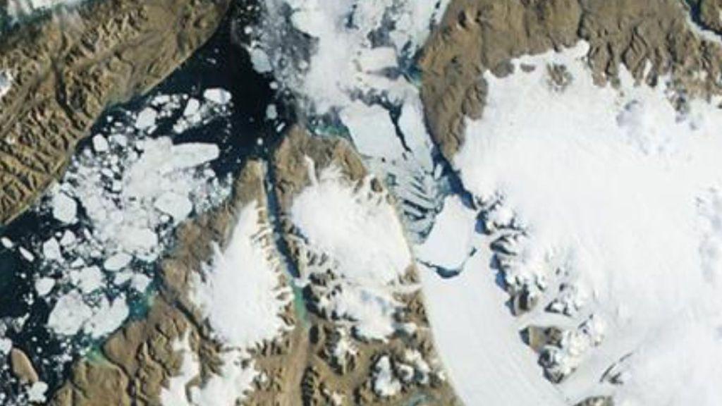 El hielo cada vez más impenetrable de Groenlandia amenaza el nivel del mar