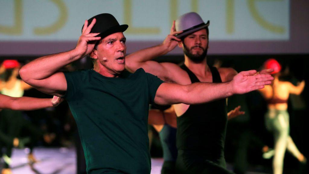 Antonio Banderas lleva el espíritu de Broadway a Málaga