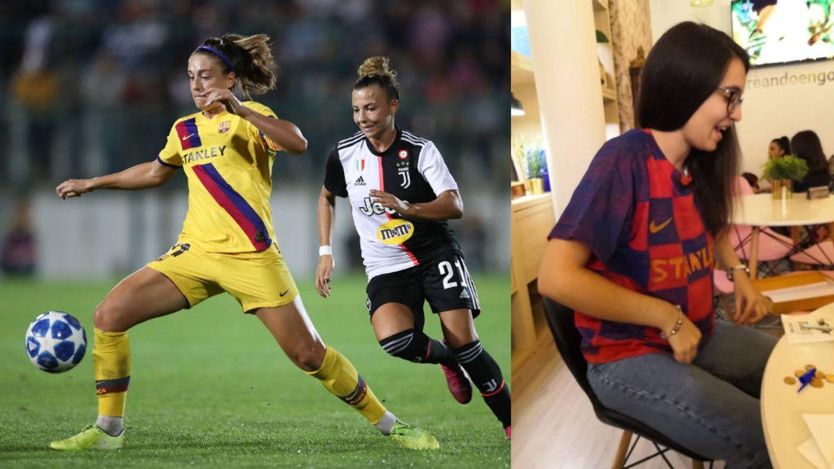 El emotivo gesto de una aficionada de Barça que conmovió a la jugadora del FC. Barcelona Alexia Putellas