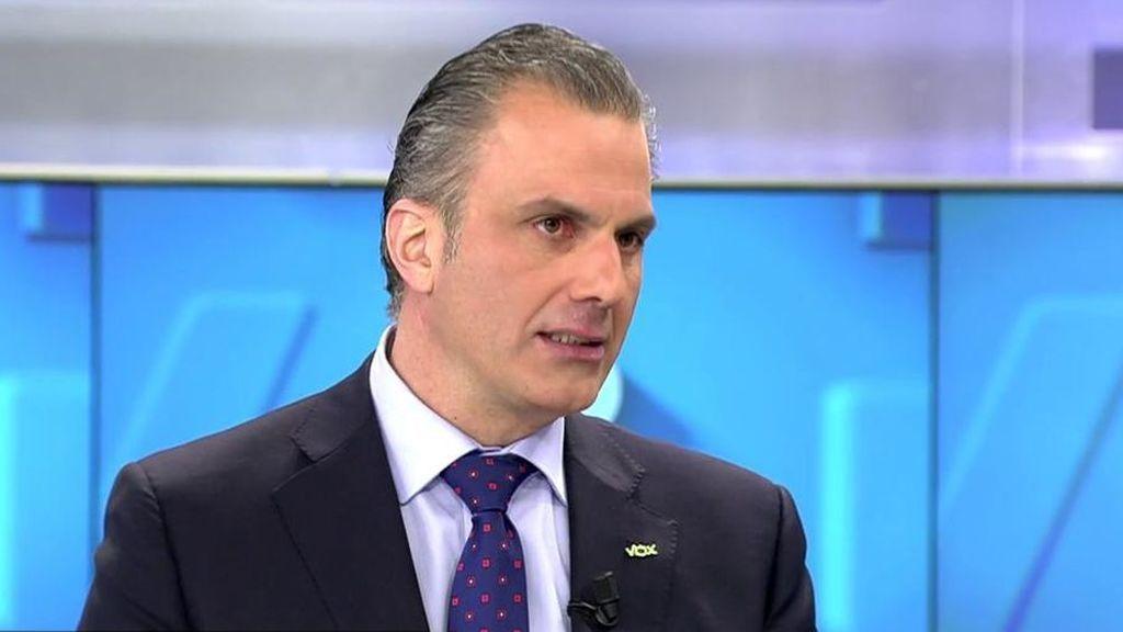 """Vox apoya la cadena perpetua para delitos de """"máxima gravedad"""""""