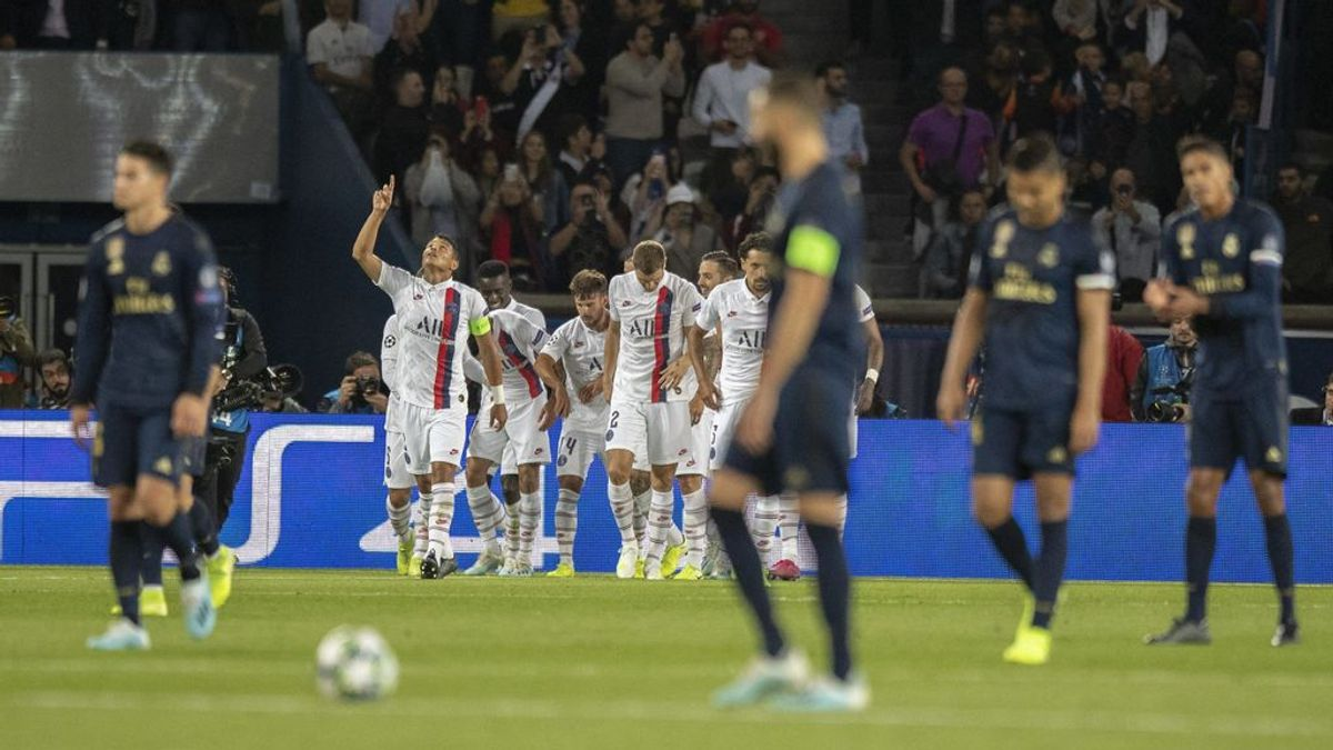 ¿De quién es la culpa en la derrota del Real Madrid ante el PSG?