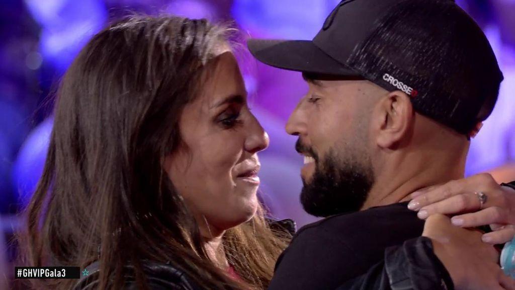 """El emotivo reencuentro de Anabel Pantoja con su novio: """"Nos casamos y nos vamos por ahí"""""""