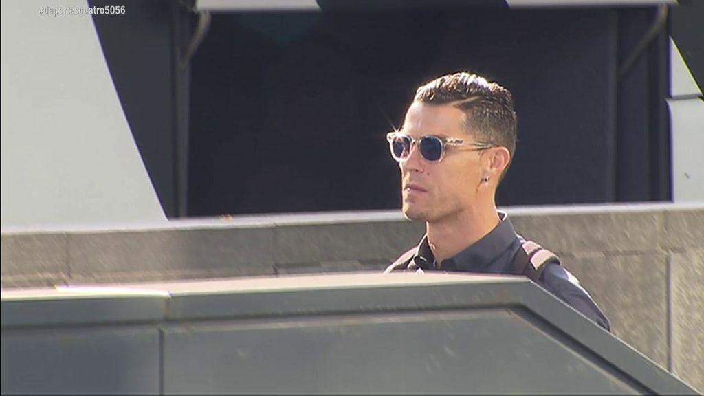 """Cristiano Ronaldo, a Deportes Cuatro sobre su gesto en el Wanda: """"Iba dedicado a tu prima"""""""