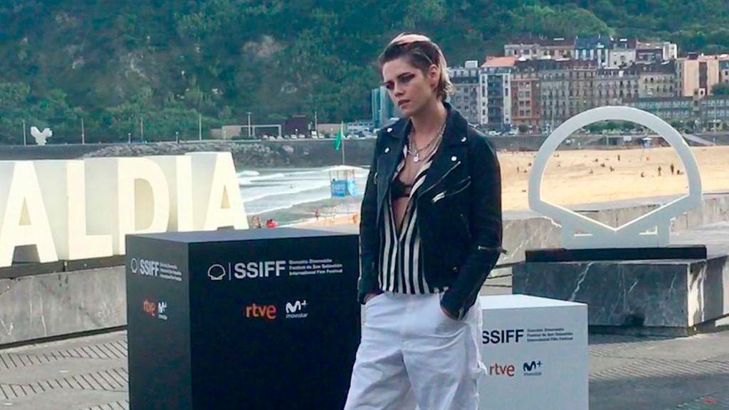 Kristen Srewart, la estrella más madrugadora del Festival de San Sebastián